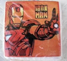 IRON MAN Marvel Party CAKE NAPKINS x50 Heroes Birthday Decoration Suppli... - $9.88