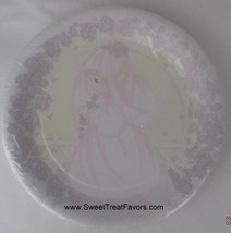 Precious Moments Party Supplies Plates Lunch Decoration Weeding Bridal Favors x8 - $9.85