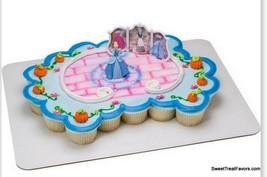 Cinderella PRINCESS Cake Topper Decoration Party Kit Birthday Cupcakes F... - $11.83