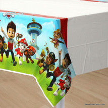 PAW PATROL Dog TABLECOVER Birthday Decoration Party Supplies Tablecloth ... - $8.37