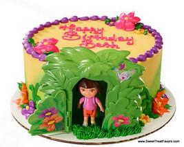 DORA Explorer Diego Cake Party Birthday Supplies Decoration Cupcake Kit ... - $9.85