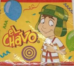 El Chavo Party Supplies NAPKINS x24 birthday Kiko Mantel Decoration Nono... - $7.90