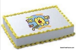 Wow Wow Wubbzy Party Cake Topper Decoration Edible Kit Birthday Favors Yellow Nw - $8.86