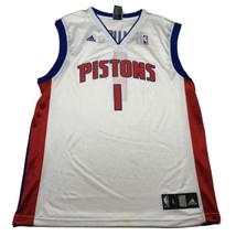 Vintage Reebok Chauncey Billups #1 Detroit Pistons NBA Jersey Mens Large... - $44.48