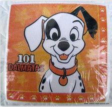 101 Dalmatians Party NAPKINS Cake Favors Decoration Birthday 102 Dog Ani... - $8.86