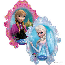 FROZEN Party BALLOON Mylar Birthday Decoration Treat Princess Disney Els... - $9.85