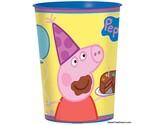 PEPPA PIG Party FAVOR Birthday Cups Stadium Decoration Plastic Supplies Piggy NW