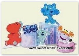 Blues Clues Party Supplies Centerpiece Favor Birthday Dog Decoration Boy Girl Nw - $8.37