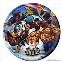 MARVEL SUPER HEROES SQUAD Party Favor Hulk PLATES CAKE Avengers  Birthda... - $5.40