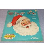 Peter Pan Childs 45 Rpm Record Jingle Bells and Favorite Christmas Carols - $6.95