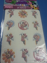 Minnie Mouse Party Supplies 24 TATTOOS FavorsTreat Gift Bag Goodies Mick... - $7.87