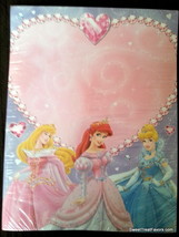 Princess Letter Invitations Paper Birthday Decoration Party Supplies DYI  Sheets - $9.85