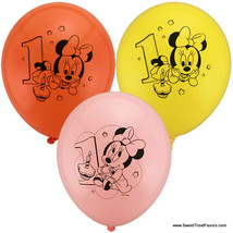 Minnie Mouse Baby Balloons Latex 1st First Birthday Decoration Party Supplies 12 - $10.84