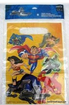 JUSTICE LEAGUE MARVEL HEROES BAGS Loots x8 Wonder Woman Decoration Party... - $8.86
