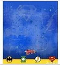 JUSTICE LEAGUE MARVEL HEROES Tablecover Decoration Party Batman Superman... - $7.87