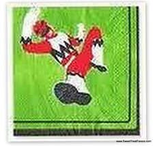 Power Rangers Party Napkins Cake Birthday Supplies x16 Favors Decoration Kids Nw - $6.91