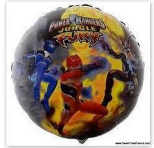 Power Rangers Decoration Balloon Party Mylar Favor Treat Birthday Furia Jungle * - $4.93