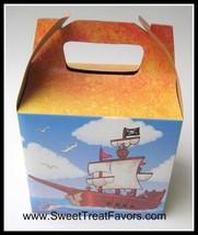 Pirates Ship Boat  Party Supplies Favor Bag Boxes Treat Gables Treasure x12 Loot - $12.67