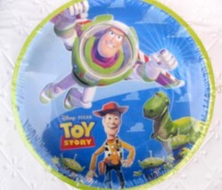 Toy Story Party Supplies x12 PLATES CAKE Package Woody Buzz Birthday Dec... - $11.83