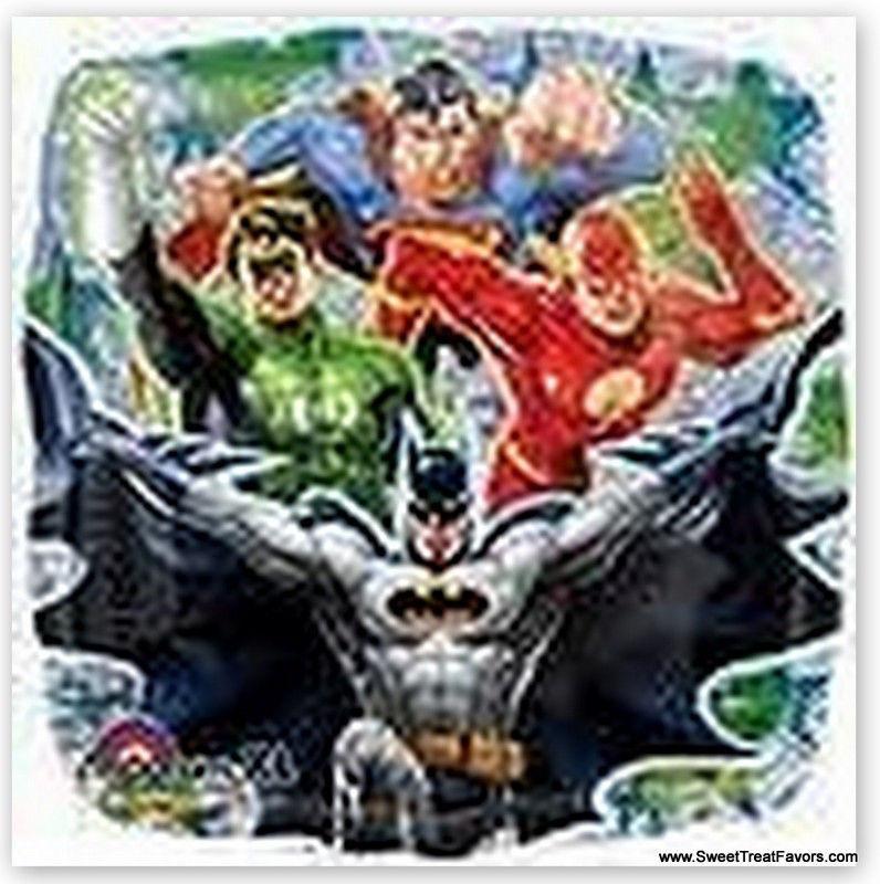 SUPERFRIENDS Decoration Justice League BALLOON Batman Superman Green Lantern NEW - $2.86