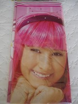 Lazy Town Party Table Cover Stephanie Birthday Supplies Decoration Girl Pink New - $12.82