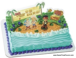 JACK and Neverland PIRATES Cake Party Birthday Supplies Decoration Cupca... - $8.86
