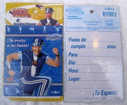 LAZY TOWN Party 12 INVITATIONS Favor Birthday SPORTACUS Decoration Treat... - $8.86