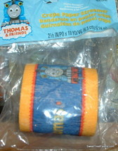 Thomas Train Party Birthday Supplies Streamer Roll Decoration Favors Pap... - $8.86