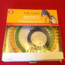 "Knotty Knitter Round Loom Set 3 Looms- 11"", 9"", 5"" - $19.37 CAD"