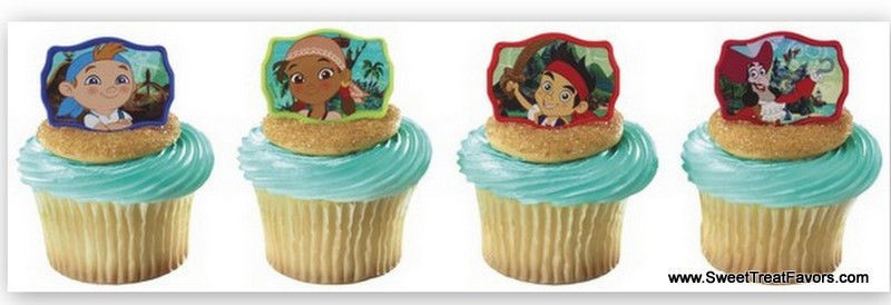 Wondrous Jack Neverland Pirates Cupcake Cake Topper And Similar Items Funny Birthday Cards Online Elaedamsfinfo