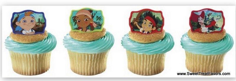 Astounding Jack Neverland Pirates Cupcake Cake Topper And Similar Items Personalised Birthday Cards Fashionlily Jamesorg