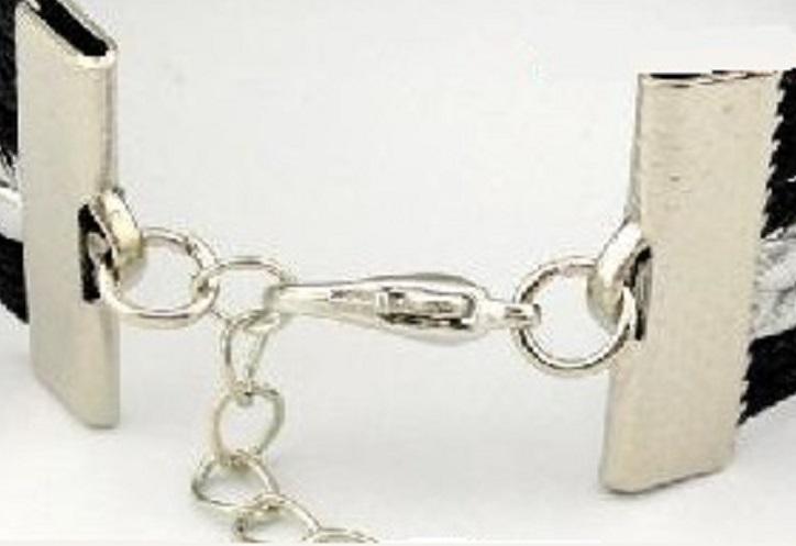 Penn State Nittany Lions College Fan Shop Infinity Hearts Bracelet Jewelry