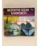 2 CD Meditative Ocean and Rainforest Relaxation... - $9.89