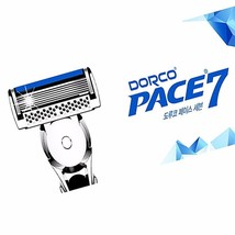 Latest 7 BlADE DORCO PACE7 CARTRIDGE RAZOR Genuine Shaving 10 Cartridges... - $40.49