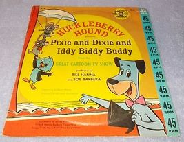 Huckleberry Hound Presents Pixie and Dixie and Iddy Biddy Buddy Golden Record  - $11.95