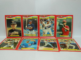 Lot of 8 cards topps 1990 #3, 7 ,15, 18 21,27,29 ,33 - Belle , Zeile,Wal... - $8.91