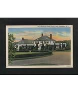 Vintage Postcard Linen Starmount Forest Country Club Greensboro NC  Unused - $7.99
