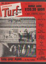 American Turf Magazine Horse Racing March 1954 Training - $16.00