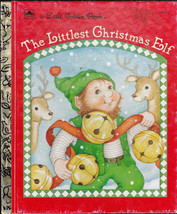 The Littlest Christmas Elf Little Golden Book Nancy Buss Terri Super - $10.03