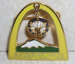 Elks B.P.O.E. BPOE Gateway 2411 Portland OR Oregon Pin - $5.89