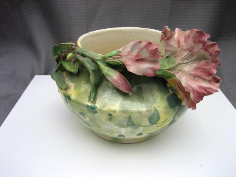 Capodimonte Vase 1950s 2 Listings
