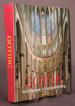 GOTHIC Architecture Sculpture Painting Religous Art Book-Photo-2007-Rolf... - $23.36