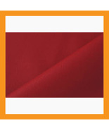 red vinyl upholstery faux leather fabric auto c... - $16.00