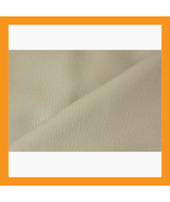 beige vinyl upholstery faux leather fabric car ... - $16.00