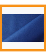 blue vinyl upholstery faux leather fabric car s... - $16.00