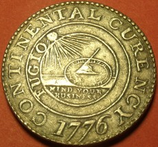 Large Pewter 1776 Continental Currency Dollar~Free Shipping - $18.70