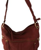 The Sak, Red Leather Hand Bad, Pre-Owned - $42.00