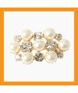 pearl beads shoes corsages cubic wedding accessory white clip heel flat ... - $24.50