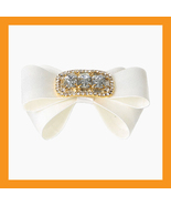 white wedding shoes corsages bridal ribbons cub... - $32.00