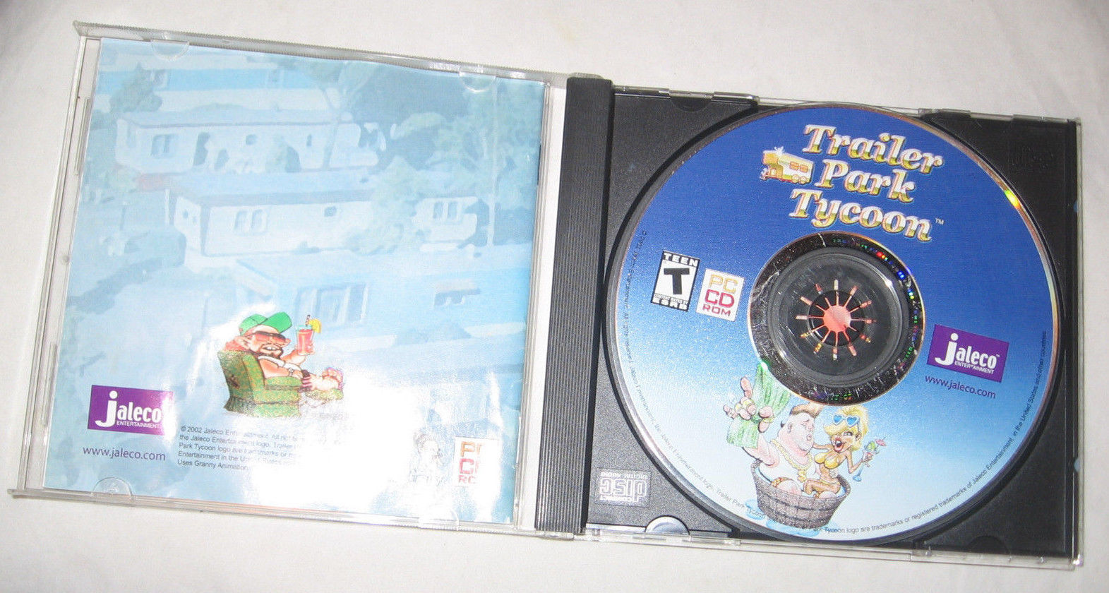 Trailer Park Tycoon PC, 2002 Economic, Simulation, T - Teen Free Shipping U.S.A. image 2